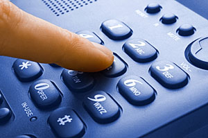 How to find the irregular call persons using internet?