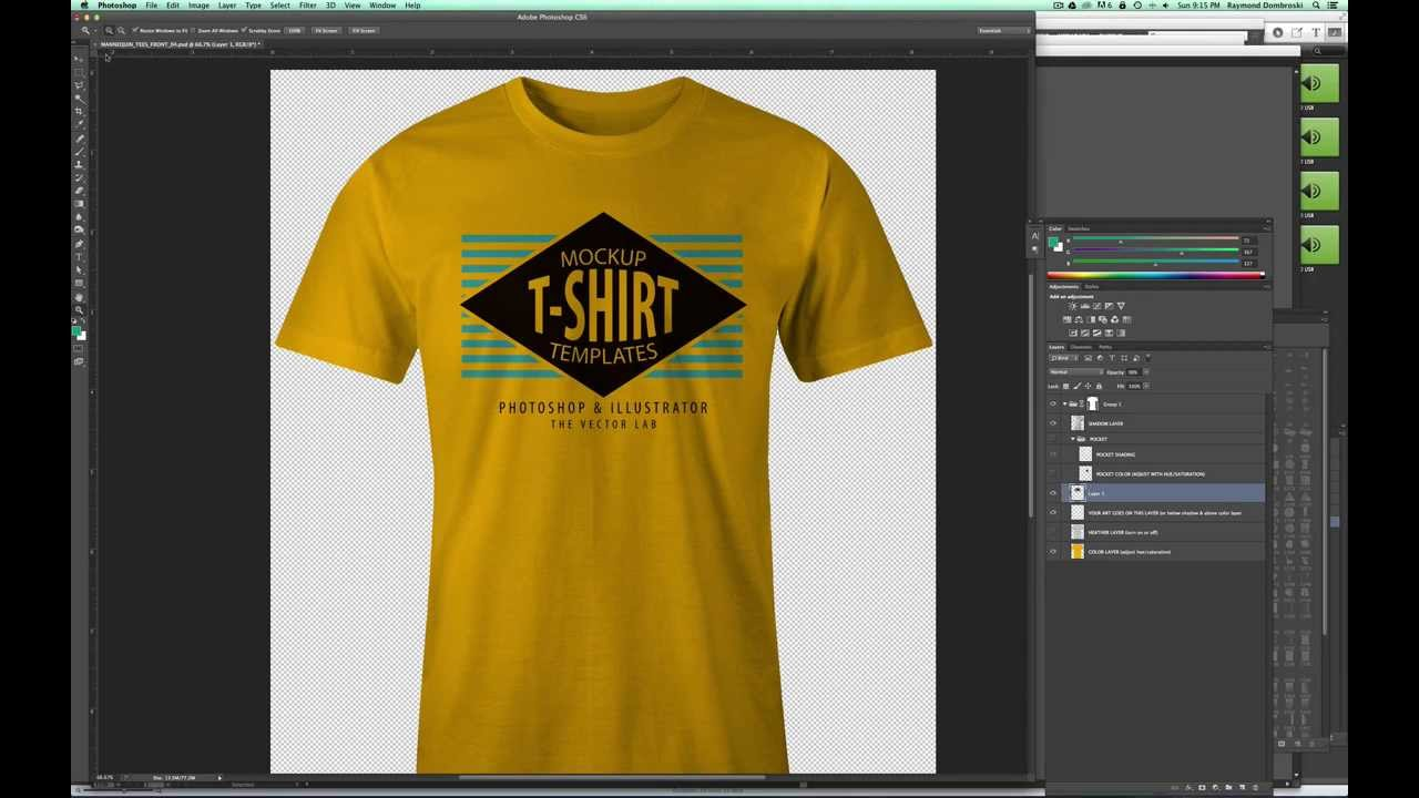 Styles involved in t-shirt graphics design