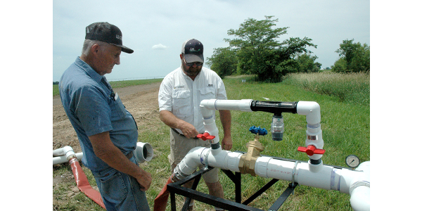 dig drip irrigation wharton