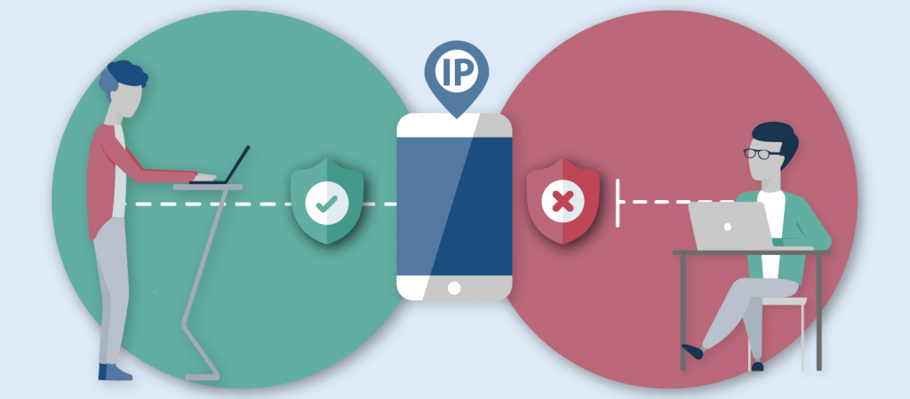 Users privacy has been strictly maintained with the help of free proxy