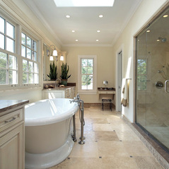 Modeling bathroom by professionals: saving trouble