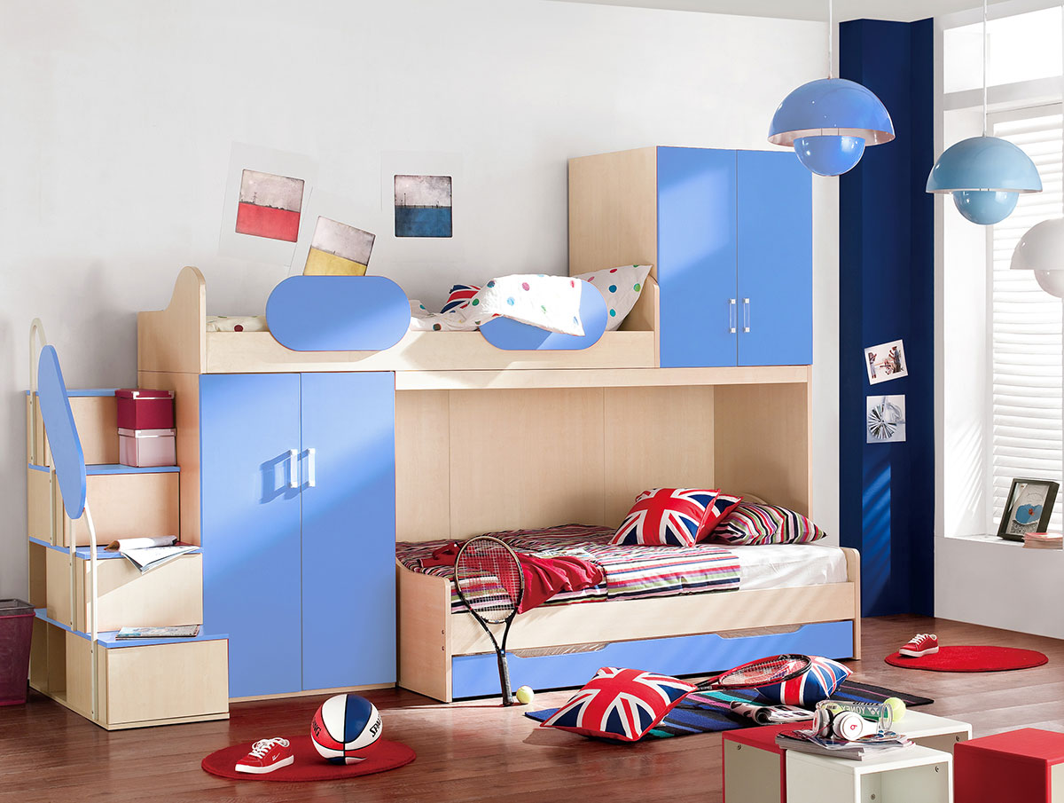 DIVERSE TYPES OF BUNK BEDS