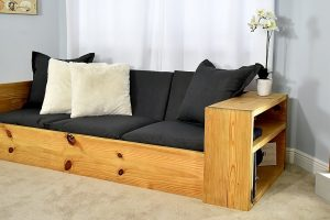 How to convert your bed into the couch
